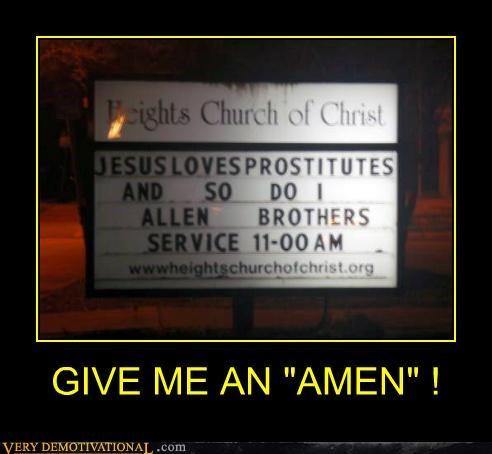 """GIVE ME AN """"AMEN"""" !"""