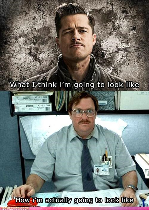 When Growing A Mustache...