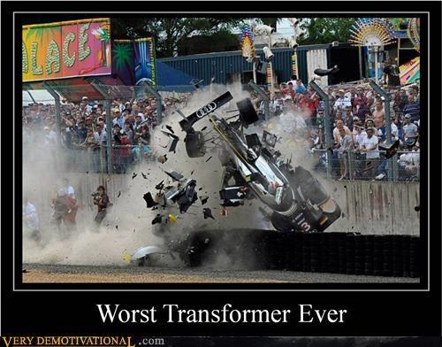 car,crash,racing,Sad,transformer