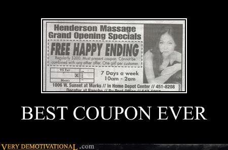 coupon,happy ending,hilarious,massage,wtf