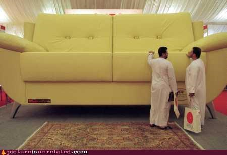 Lilliputians Make Large Couches
