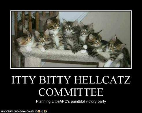 ITTY BITTY HELLCATZ COMMITTEE
