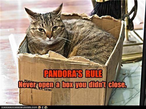PANDORA'S  RULE