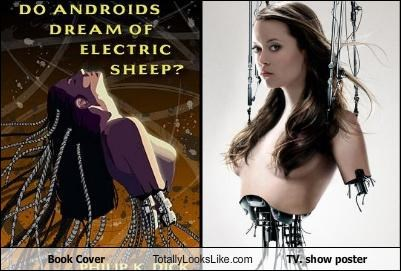 """Do Androids Dream of Electric Sheep"" Book Cover Totally Looks Like This TV Show Poster"