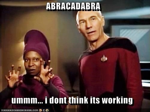 ABRACADABRA  ummm... i dont think its working