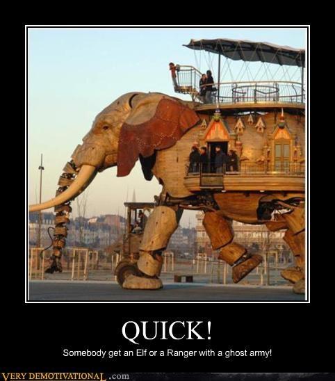dd,d&d,elephant,elf,hilarious,machine,ranger