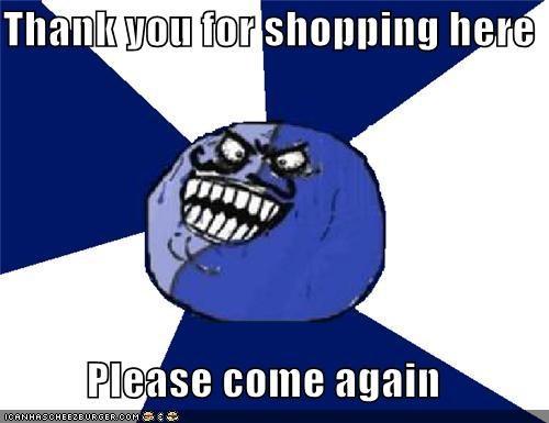 customer,i lied,right,shopping