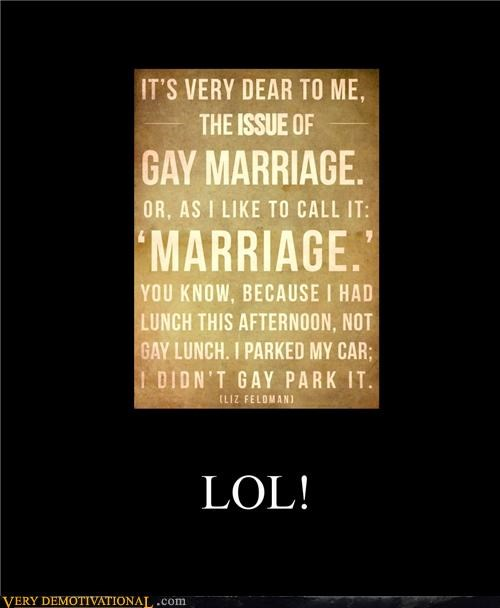 gay rights,marriage,parking,Pure Awesome