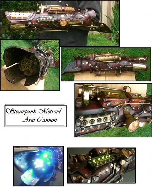 Steampunk Metroid Arm Cannon of the Day