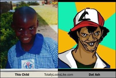 This Child  Totally Looks Like Dat Ash