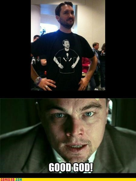 Inception,leonardo dicaprio meme,omg,the internets,T.Shirt