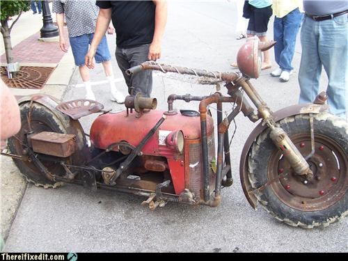 Mad Science Monday: Tractor Bike Impresses All The Ladies