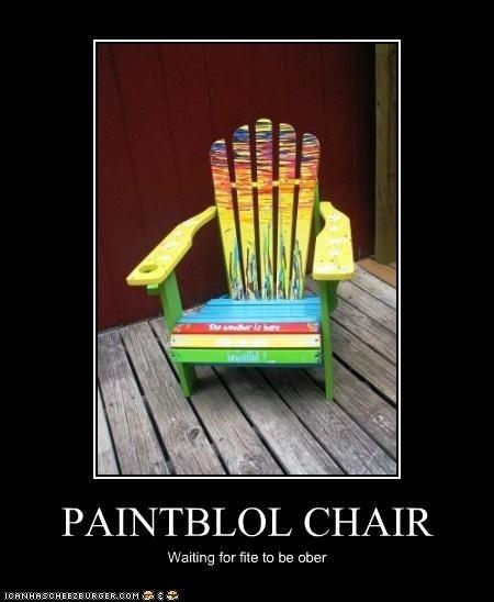 PAINTBLOL CHAIR