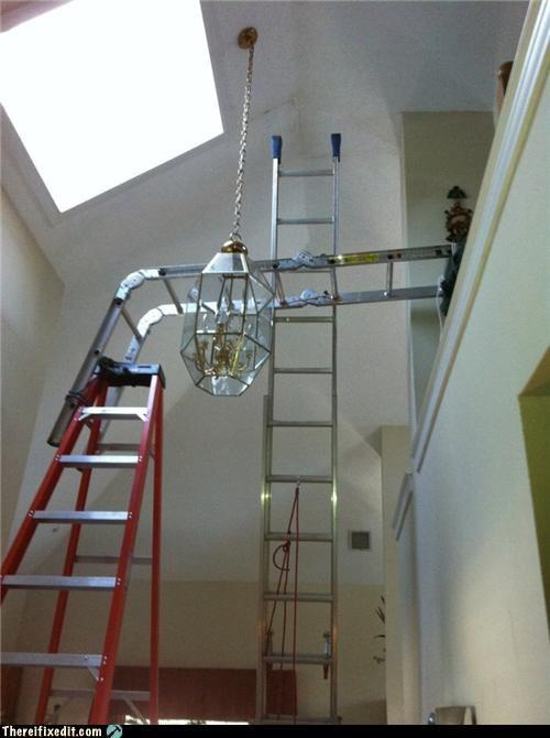 home improvement,ladder,safety first