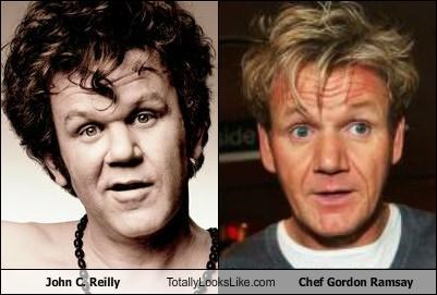 John C. Reilly Totally Looks Like Chef Gordon Ramsay