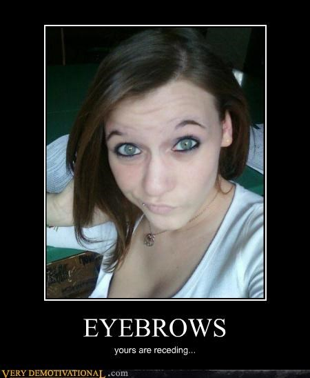 eyebrows,receding,Sad,Sexy Ladies