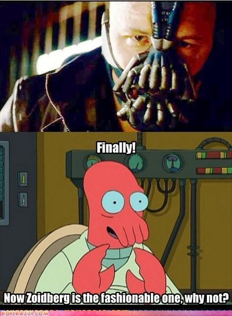 Now Zoidberg Is The Fashionable One!