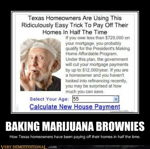 BAKING MARIJUANA BROWNIES
