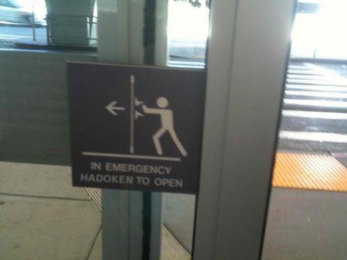 Emergency Sign of the Day