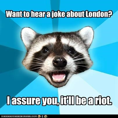 Lame Pun Coon Is On Fire