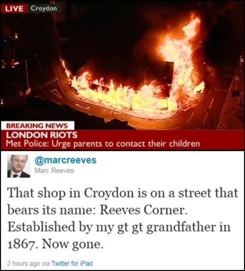 London Riots News Round-Up