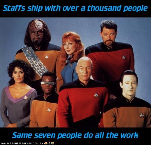 Scumbag Starship Enterprise