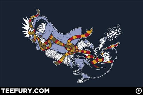 Harry Potter vs. The Doctor Tee of the Day