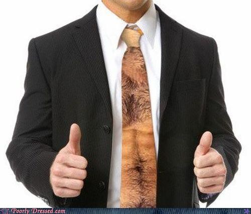 Your Tie Could Use a Good Waxing