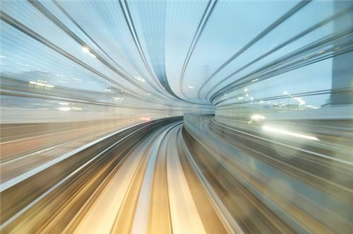 Long-Exposure Train Photos of the Day
