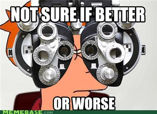 Not Sure if Optician or DMV