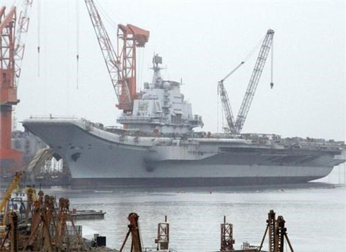 First Chinese Aircraft Carrier of the Day