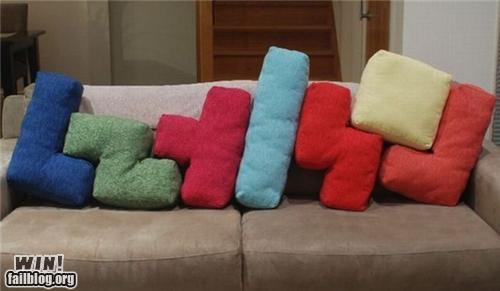 Tetris Pillows WIN