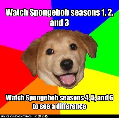 Watch Spongebob seasons 1, 2, and 3