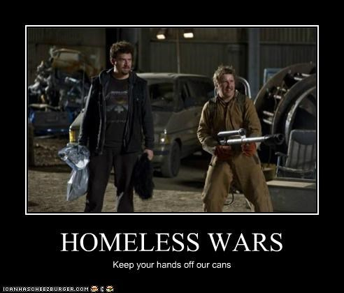 HOMELESS WARS