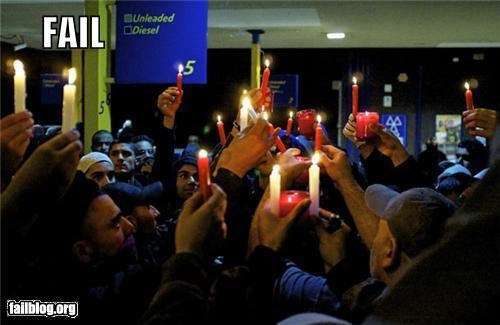Candlelit Vigil Location FAIL
