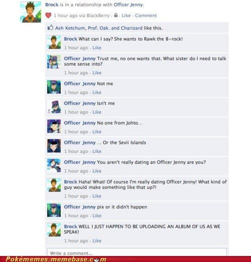 brock,facebook,IRL,officer jenny,romance