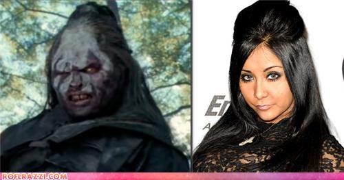 celeb,funny,Lord of the Rings,orc,sci fi,snooki,TLL