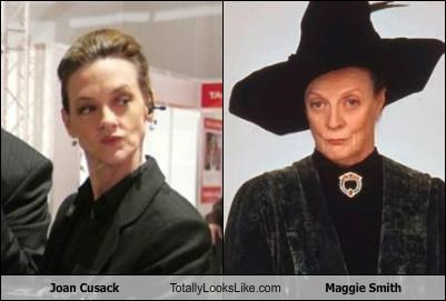 Joan Cusack Totally Looks Like Maggie Smith