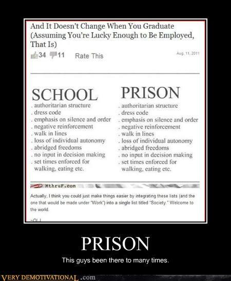 prison,Sad,school,truth,unfortunate