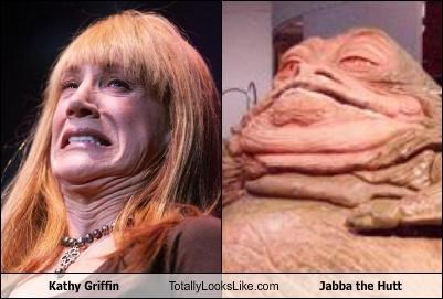 Kathy Griffin Totally Looks Like Jabba the Hutt
