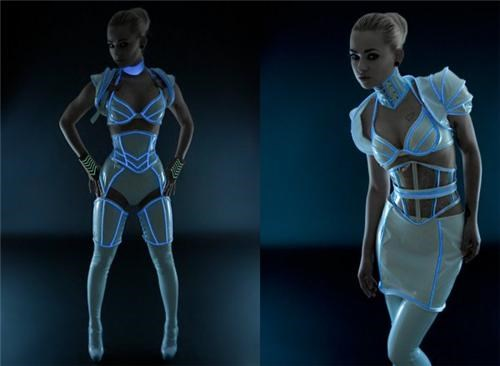 Sexy Tron Outfit of the Day