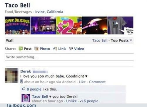 Featured Fail,lol,oops,taco bell,win,wrong wall