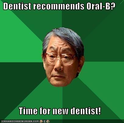 aquafresh,dentist,high expectations asian dad,oral b,teeth,toothpaste