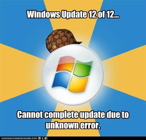 Scumbag Windows: This is why it took 45 minutes for my PC to shut down?