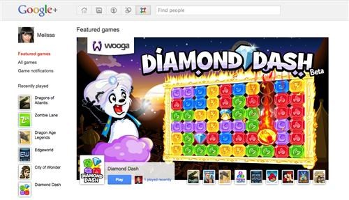 Google+ Games of the Day