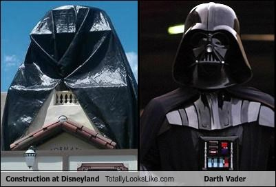 Construction at Disneyland Totally Looks Like Darth Vader