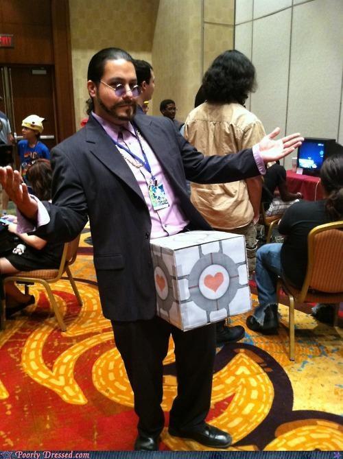 cosplay,dick in a box,Portal
