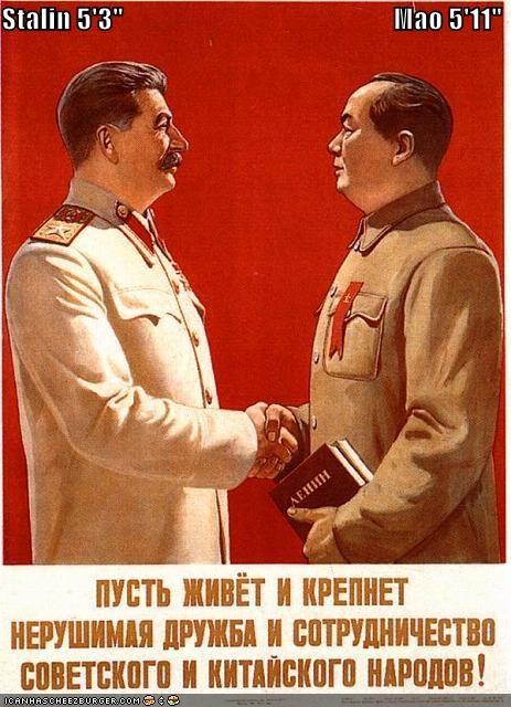 communism,josef stalin,Mao Zedong,political pictures