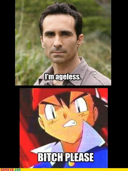 Richard Alpert vs. Ash Ketchum