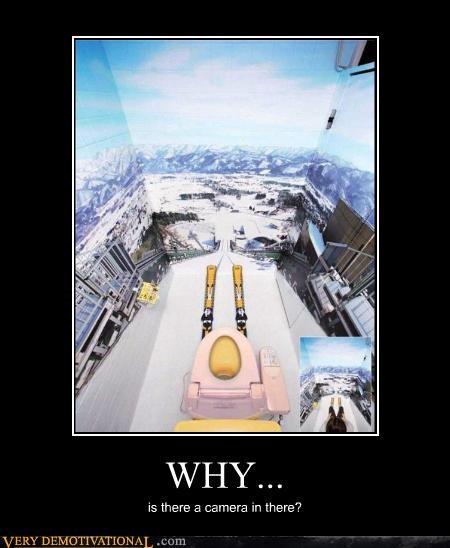 bathroom,camera,hilarious,ski,toilet